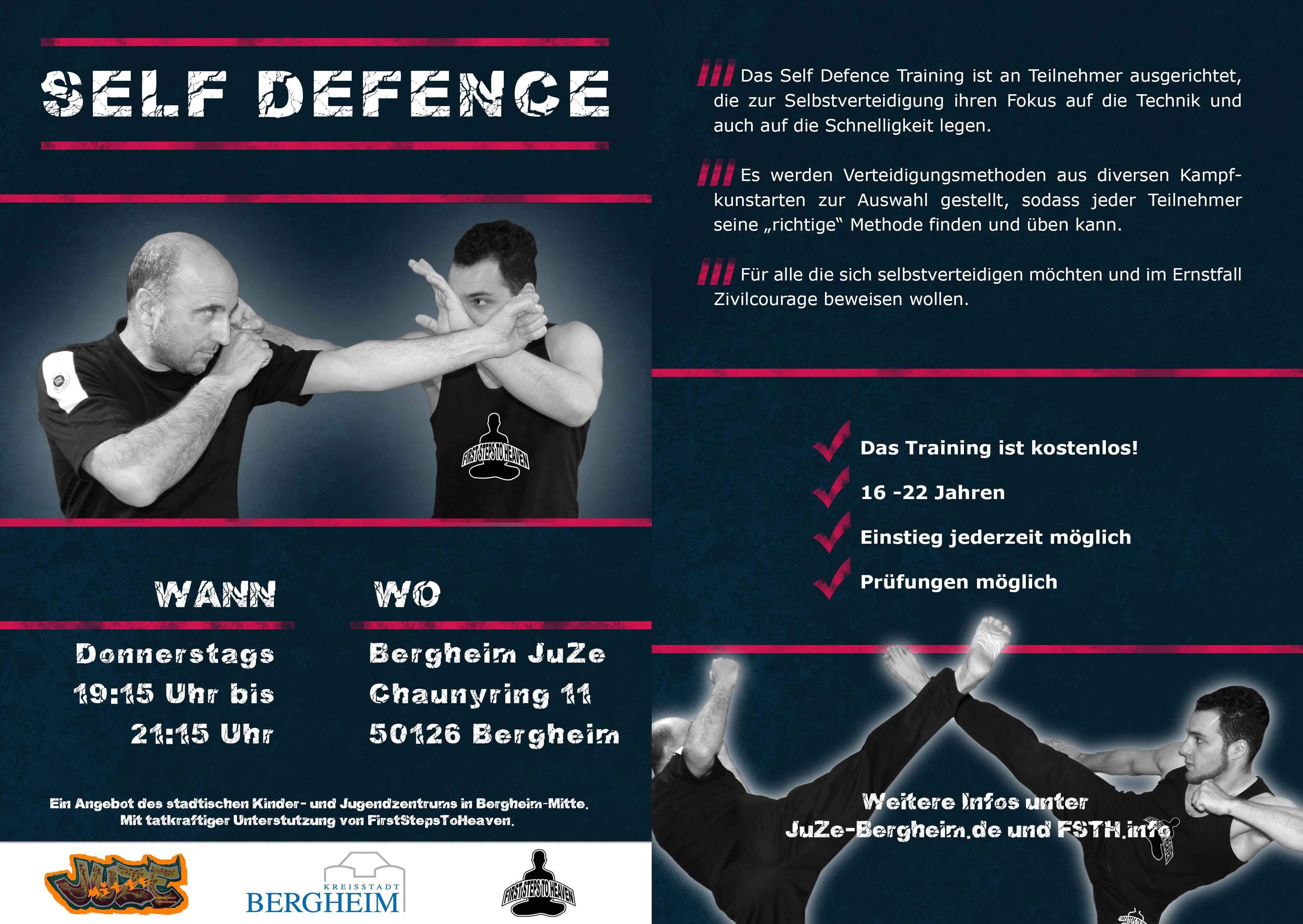 Self Defence Flyer